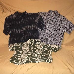 Other - Bundle Mens Alfani, Old Navy short sleeved shirts